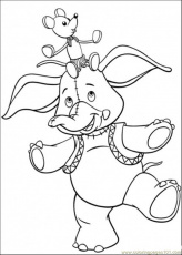 Coloring Pages Mr Jumbo (Cartoons > Noddy) - free printable