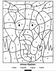 multiplication facts coloring pages