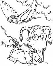 The Wild Thornberrys Coloring Pages Coloring Home