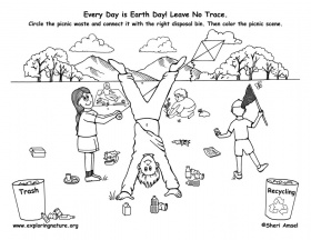 early play templates: Earth Day Activity Sheets