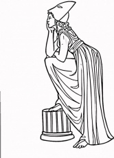 Coloring Page Ares Mars Img Roman Gods Coloring Pages Printable