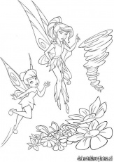 Tinkerbell Coloring Pages To Print