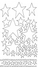 Starry Night Colouring Pages 296232 Starry Night Coloring Page