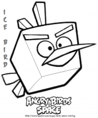 Angry Bird Coloring Pages Yellow Bird