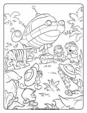 Little Einsteins Coloring Pages Little Einsteins Coloring Pages