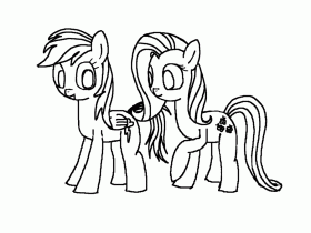 Rainbow Dash Coloring Page | Clipart Panda - Free Clipart Images