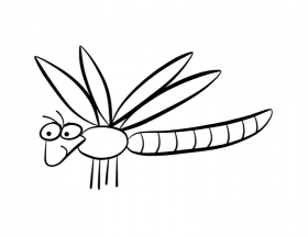 Dragonfly Coloring Pages Free For Kids Laptopezine Coloring Home