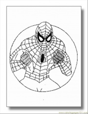 free printable coloring page Spiderman Superhero | coloring pages