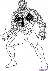 Carnage Coloring Pages Spiderman Venom And Carnage Coloring 229587