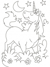 Unicorn Coloring Page | Coloring Pages