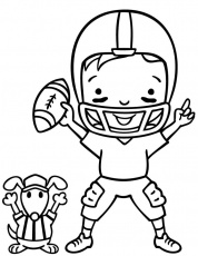 Super Bowl Sunday Coloring Book Pages. | Hut! Hut!