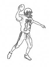 Pictures Ball Super Bowl Coloring Pages - Event Coloring Pages