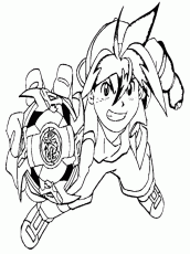 Download Tyson Beyblade Coloring Pages Or Print Tyson Beyblade