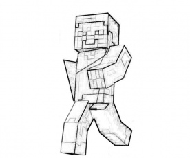 jessie coloring pages minecraft - photo#24