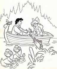 Princess Coloring Pages To Print Disney Princess Little Mermaid