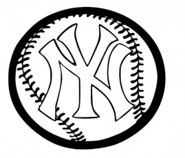 new york yankees coloring pages