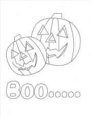 Halloween Coloring Pages For Kids | Free coloring pages for kids