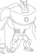 Ben 10 Ultimate Alien Coloring Pages | download free printable