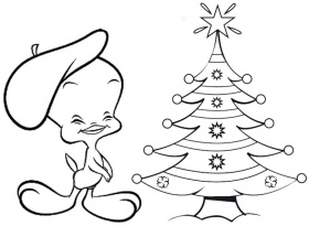 Coloring Pages Of Tweety Bird - Free Coloring Pages For KidsFree