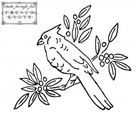 For the Birds Embroidery Transfer Patterns