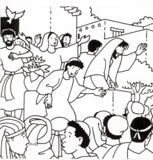 Pentecost coloring pages | Pentecost