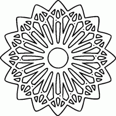 Printable Abstract Coloring Pages | Coloring Pages