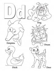 d coloring pages