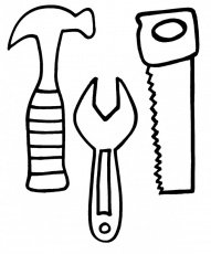 tool coloring pages for kids