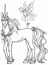 Unicorn Coloring Pages (51 of 51)