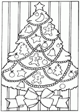 Free Printable Coloring Pages Christmas Trees