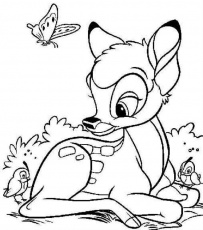 thumper coloring pages