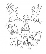 Print The Team Dog Coloring Pages: Print The Team Dog Coloring Pages