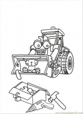 Coloring Pages Scoop (Cartoons > Bob the Builder) - free printable