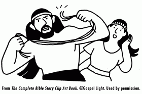 samson and delilah coloring page samson and delilah mission bible class - Samson Delilah Coloring Pages