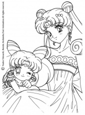 Sailor Moon Coloring Pages Free | Coloring Pages For Kids