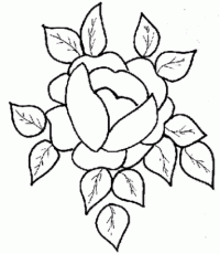 Long Stem Rose Coloring Page Free Printable Coloring Pages ...