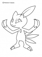 Fire Pokemon Coloring Pages Dark Houndoom Coloring Home