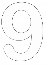 Numbers Coloring Pages | ColoringMates.