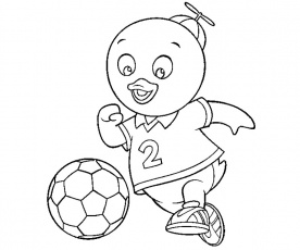pablo backyardigans coloring pages