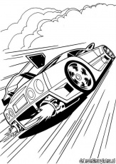 Hotwheels35 - Printable coloring pages