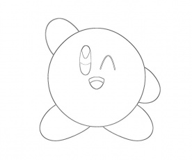 13 Kirby Coloring Page