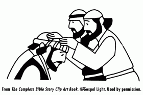 barnabas and paul coloring pages