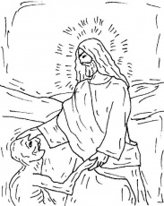 Naaman The Leper Coloring Pages 453 | Free Printable Coloring Pages