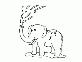 Cute Elephant Coloring Pages Cute Elephant Printable Coloring