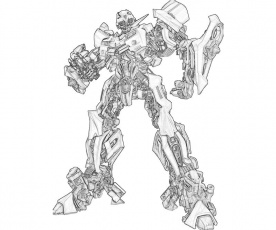bumblebee transformer coloring pages | Online Coloring Pages