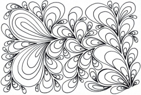 coloring pages swirls
