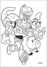 coloring pages toy story 3 | Creative Coloring Pages