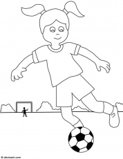 Soccer coloring pages 35 / Soccer / Kids printables coloring pages
