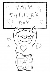happy fathers day coloring pages - Free Large Images
