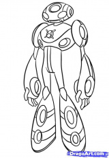 Ben 10 - Coloring Pages for Kids and for Adults